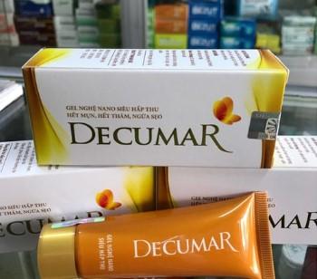 Kem trị mụn Decumar sử dụng có tốt không? Review thế nào?
